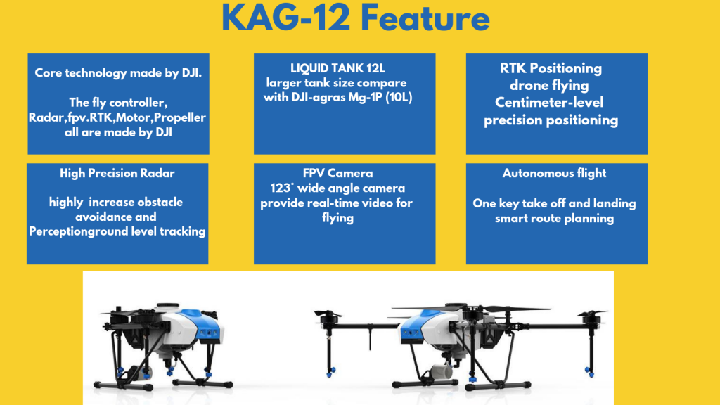 KAG-12 agriculture spraying drone