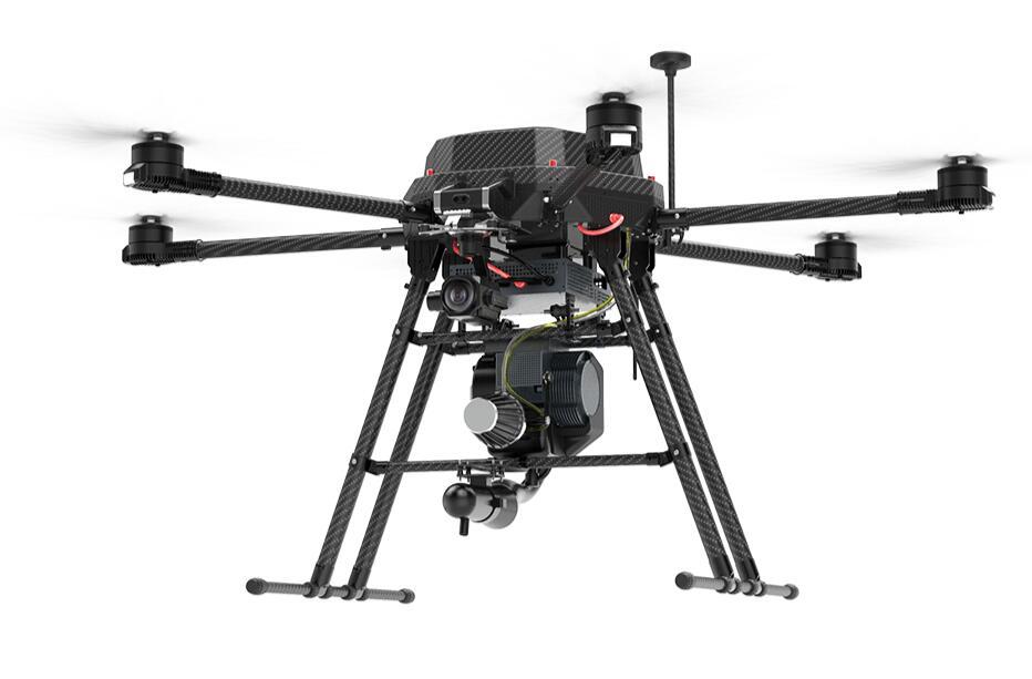 Hybrid electric drone