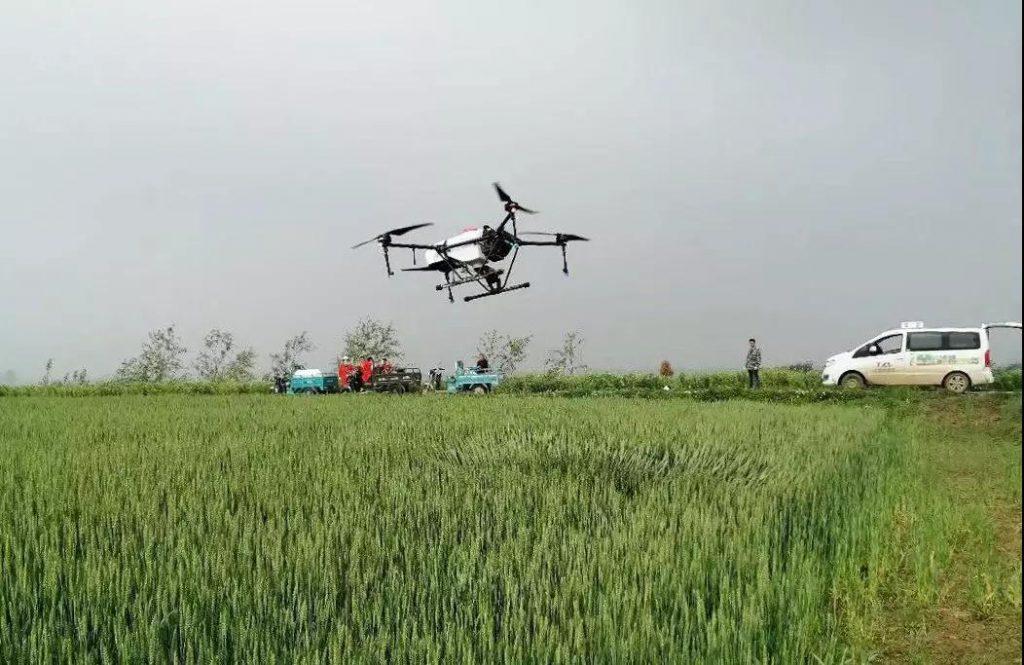 APK-12 agricultural sprayer drone
