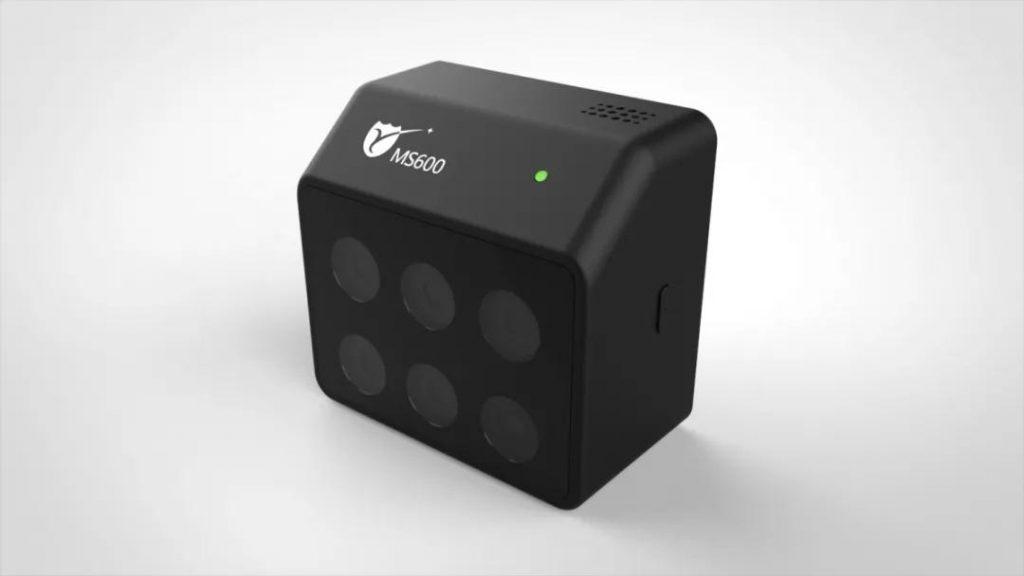 Multispectral camera sensors DJI UAV Drone
