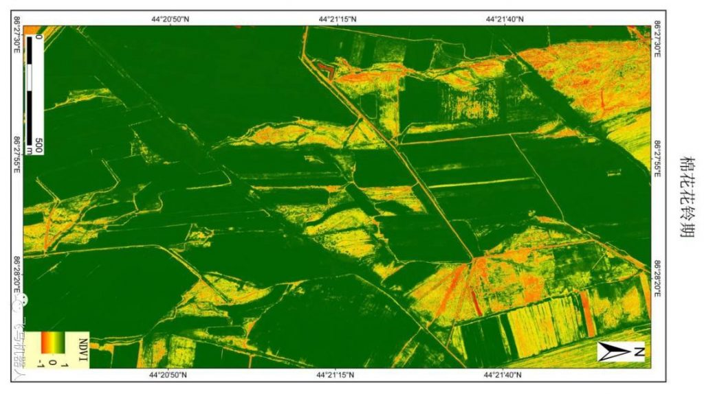 NDVI index agriculture