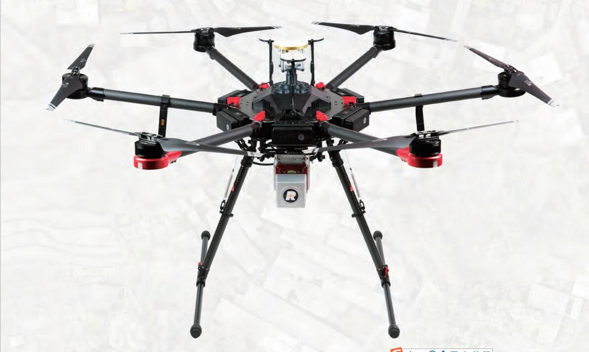 Lidar drone uav