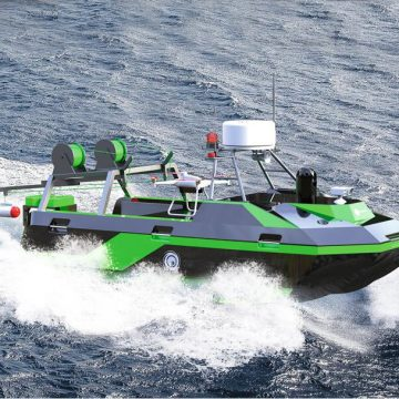 UVS Boat For sea coastal Surveillance
