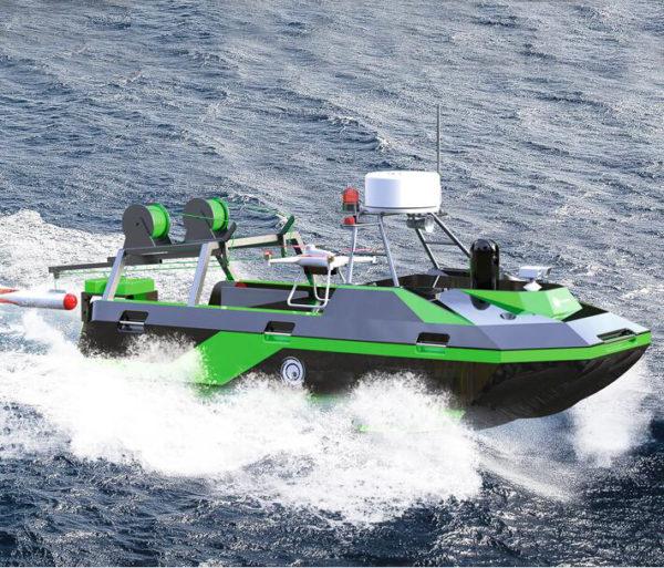 UVS Boat For sea coastal Surveillance