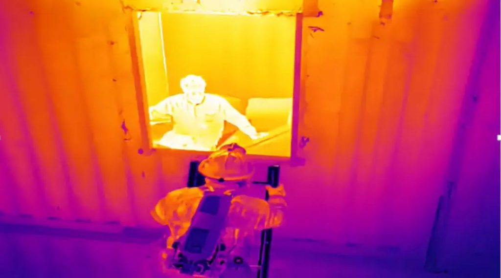 Drone  infrared thermal imaging