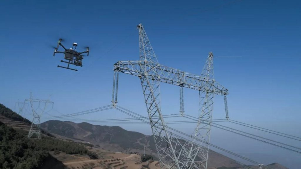 Drone Power line inspection