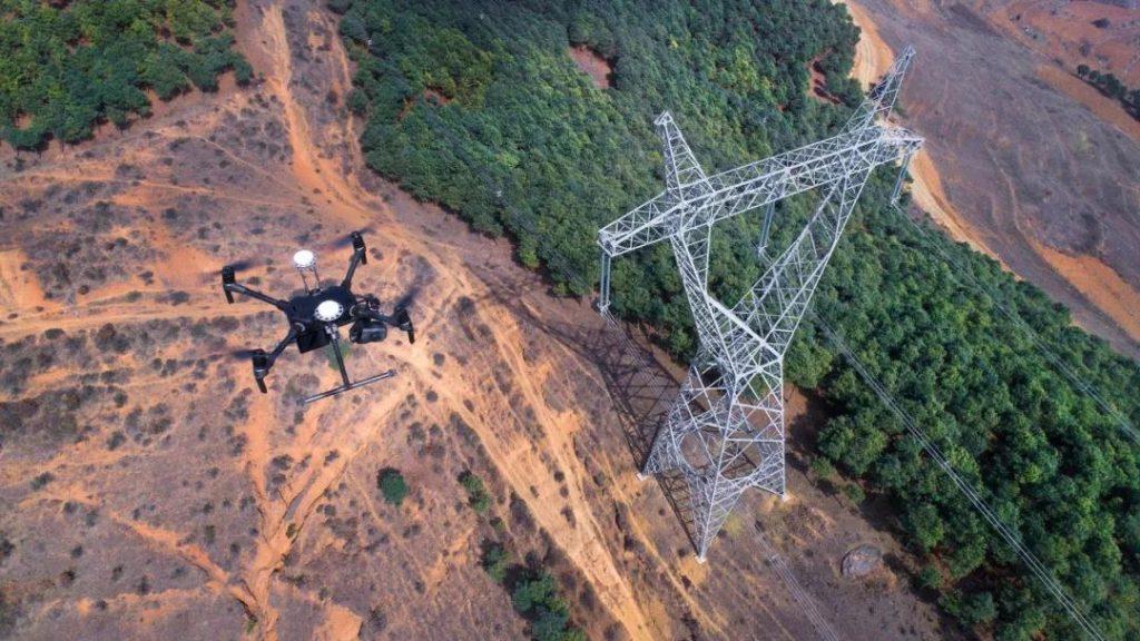 UAV power line inspection