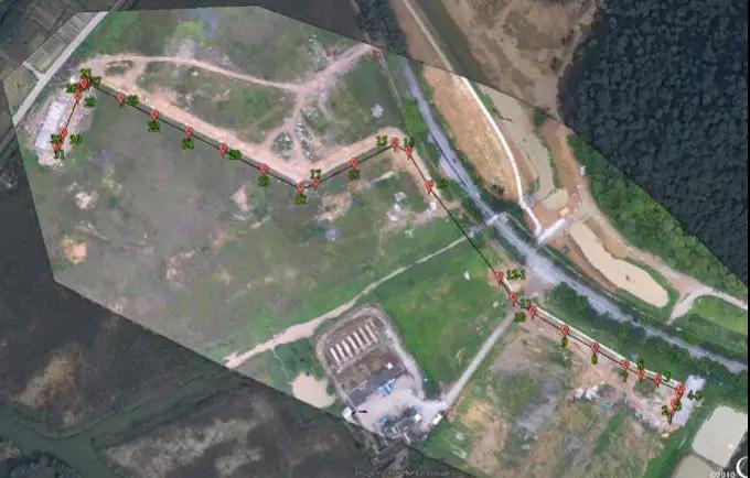 power line inspection UAV
