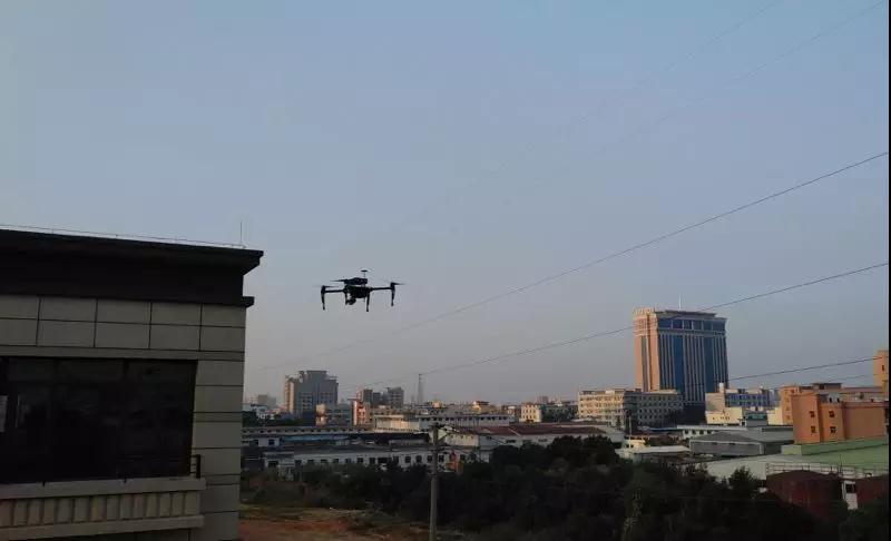 drone UAV Air pollutant gas monitoring sensor