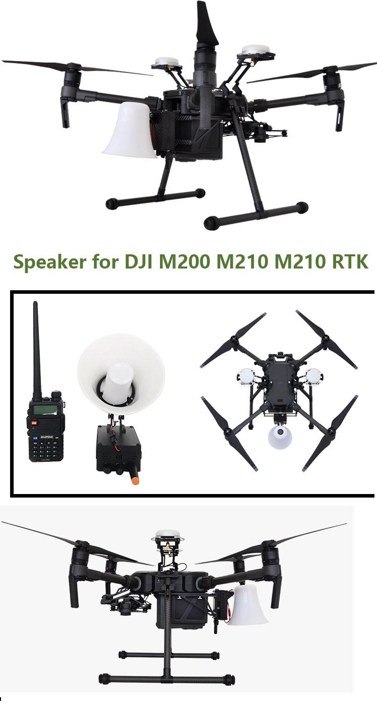 DJI M200 M210 Speaker