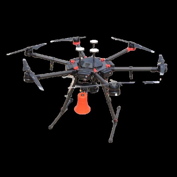 DJI Matrice 600 Pro drone speaker