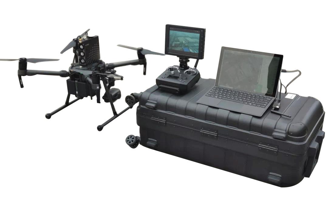 DJI Matrice 210 drone air monitoring