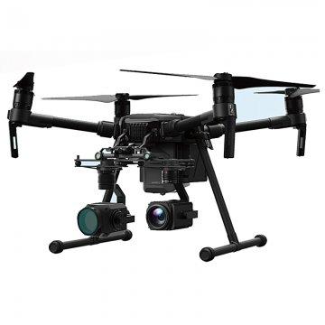 DJI Matrice 210 laser night vision lights
