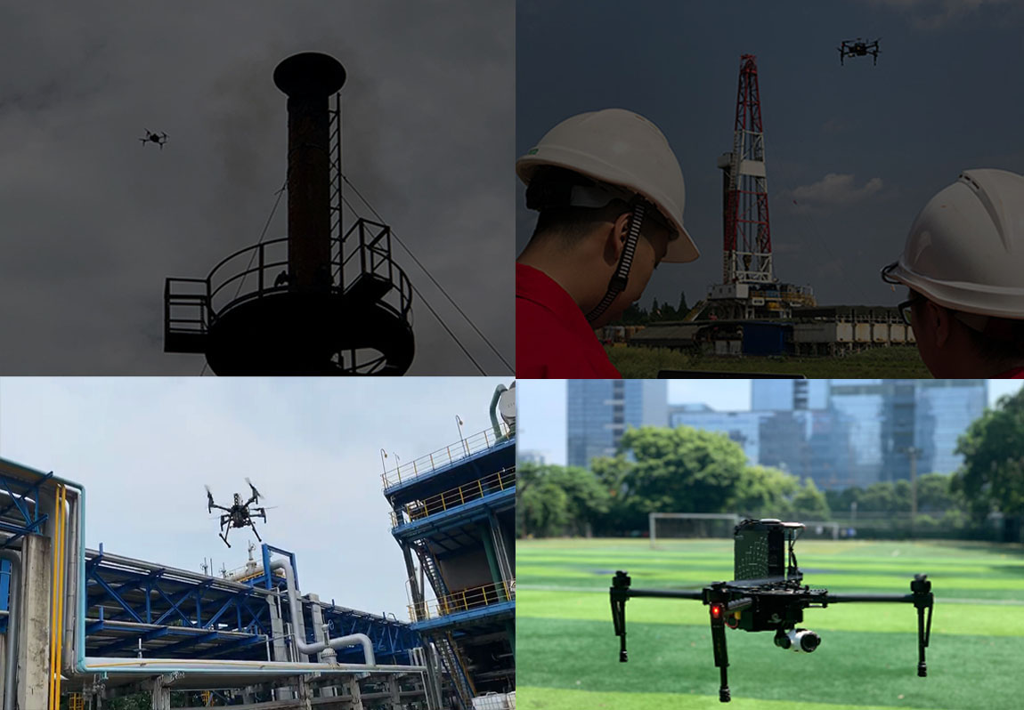 Drone Gas detection