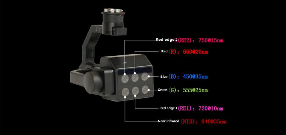 Multispectral camera for DJI M200