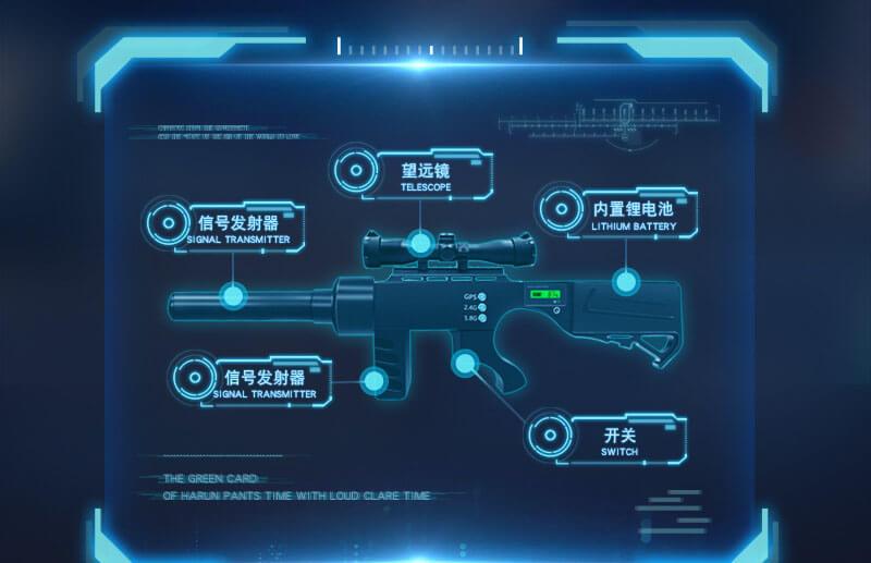 DJI drone jammer gun