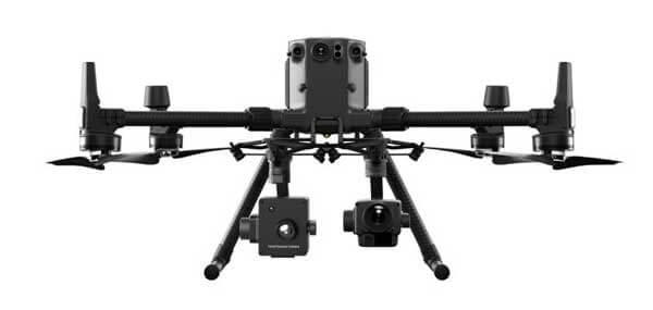 Hyperspectral camera for DJI M300 RTK