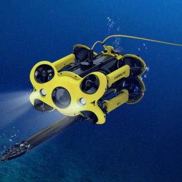 Chasing M2 underwater drone ROV