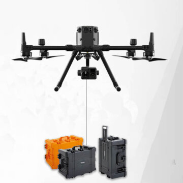 DJI M300 tethered drone system