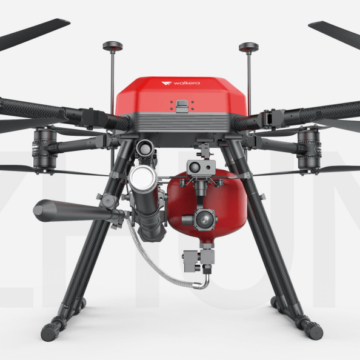 fire fighting drone uav