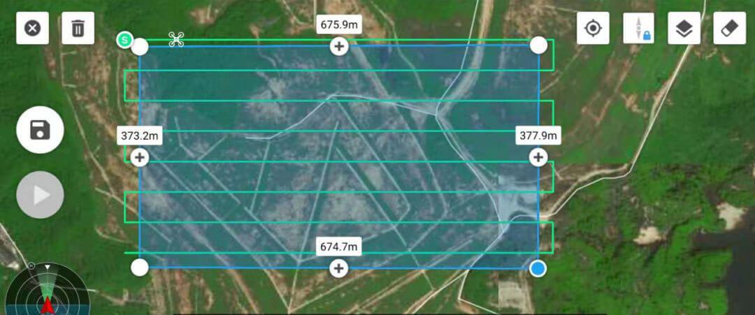 DJI M300 Drone Laser Methane Leakage Detector