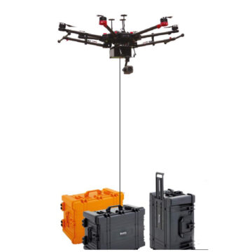 DJI Matrice 600 tethered system
