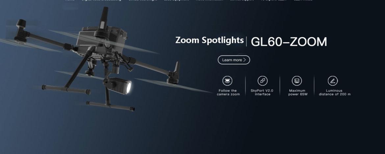GL60 zoom spotlights for DJI Matrice 300