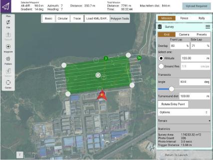 VTOL PPK drone mapping
