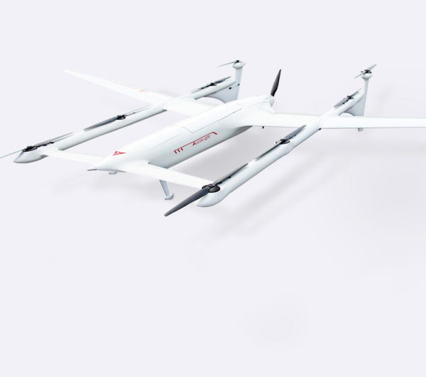 6 Hours endurance flight time long range VTOL For Mapping and surveillance