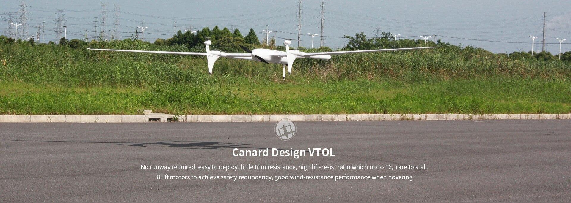 Long range VTOL