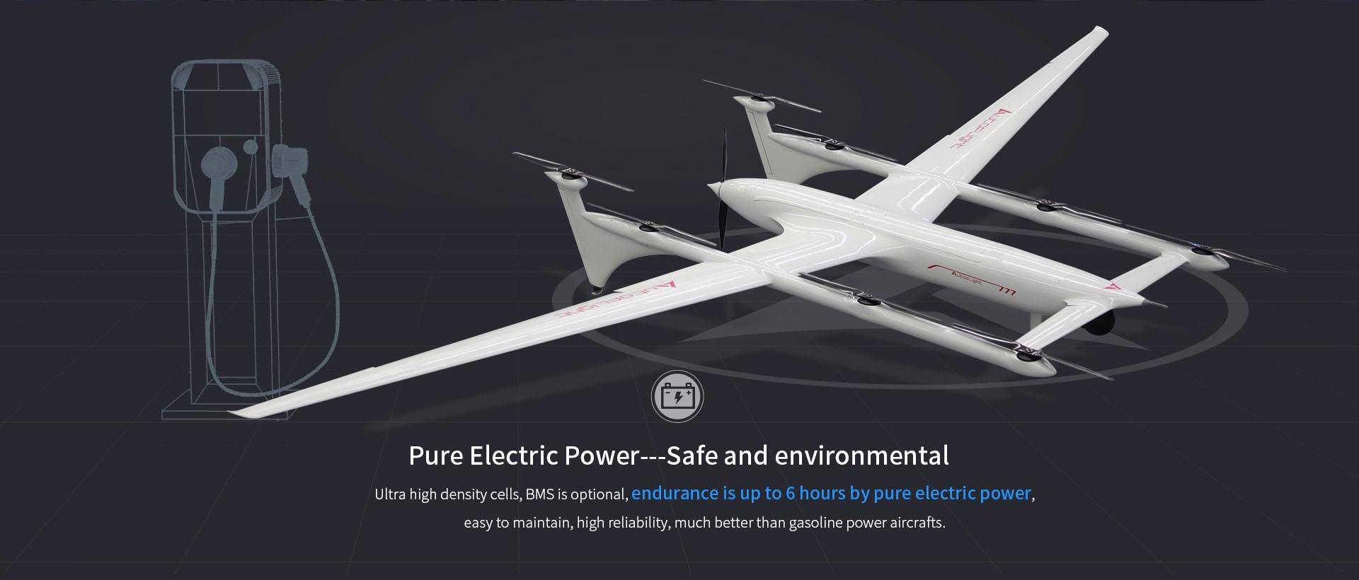 long endurance flight time VTOL