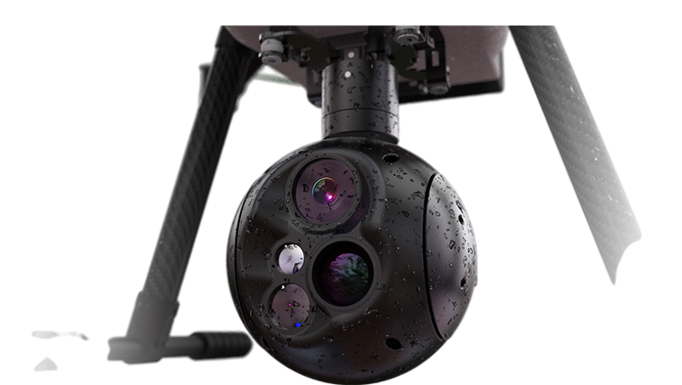 30X Optical Zoom and thermal imaging camera with Laser rangefinder