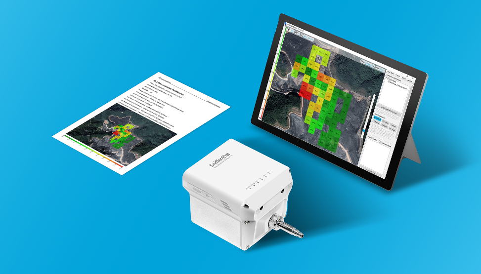 Drone (UAVs) based ambient air quality monitoring