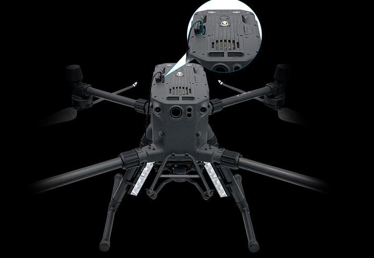 DJI M300 Drone Police strobe LED Warning light.
